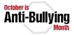 October is Anti-Bullying Month