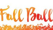 PTSA Fall Ball for 6th Grade Students - November 3rd
