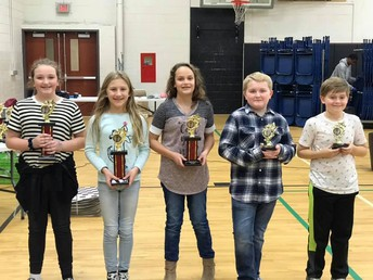 5th Grade Division Winners