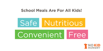School Meals Are Free For All Kids!