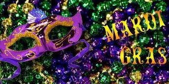 Mardi Gras Parade-February 25th at 8:30am