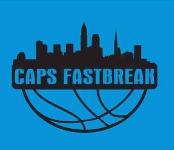 Carolina Blue CAPS Fastbreak T-shirt