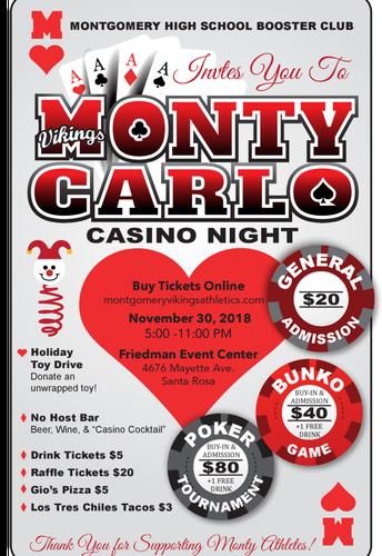 Monty Carlo Night