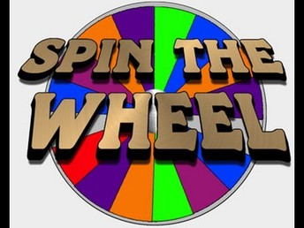 SPIN THE WHEEL/SPIRIT DAY-Friday March 23rd