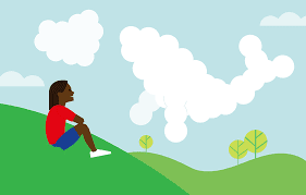 Self-Care Station - Cloud Watching!