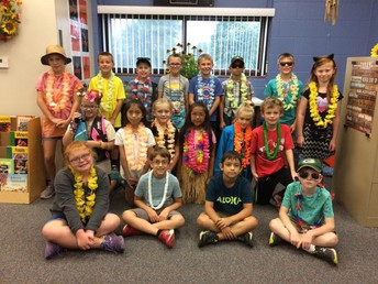 Mrs. Connelly's Class: Tourist Dress Up - Tuesday