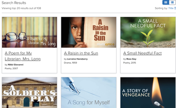STUDYSYNC'S LIBRARY HAS AFRICAN AMERICAN TEXTS FOR YOUR CLASSROOM