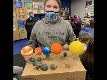 5th Grade Space Projects!