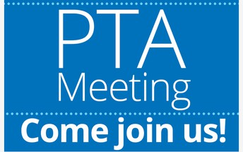 PTA Meeting - Thursday, January 14th 6:30 PM