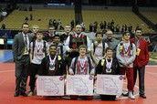 Congratulations to the wrestling team on a fantastic weekend at state!