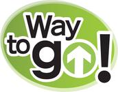 Way to Go - Ride the bus, walk, bike/roll, or carpool