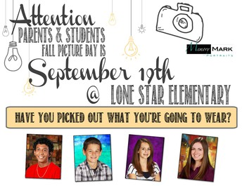 Picture Day Sept 19