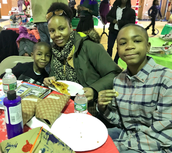 Lasean and Drenell had a blast at WinterFest!
