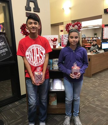Date-a-Book Drawing Winners