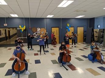 6th Grade Gold Orchestra 2