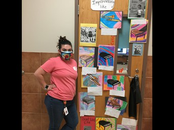 Mrs. Sencalar celebrates BHM!