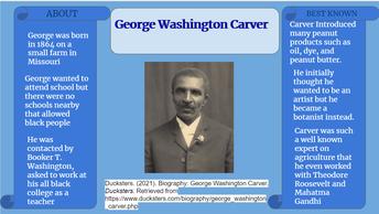 George Washington Carver - Inventor