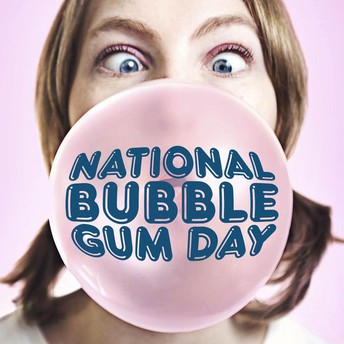 National Bubble Gum Day is Friday, February 1!