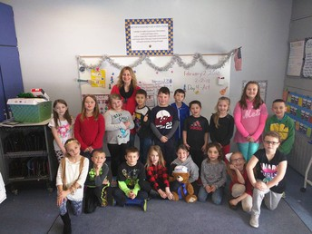 Most Improved Points - Mrs. Burnham's Class