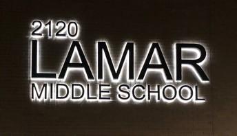 New Lamar Signage