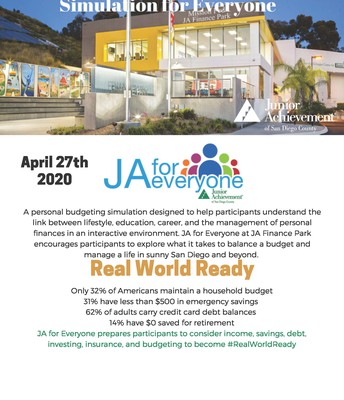 Junior Achievement Finance for Everyone (Ages 12 & up)