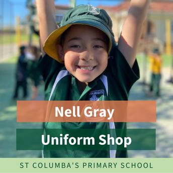 Nell Gray uniform supplier