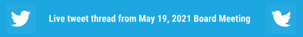 Click here to access the live tweet thread from May 19, 2021.