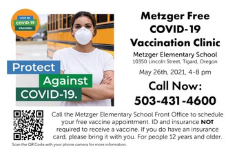 Metzger COVD-19 Vaccine Clinic