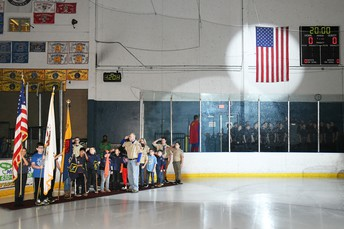 Boy Scouts at the Steel Game