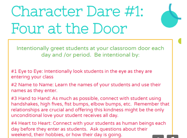 Character Dare #1