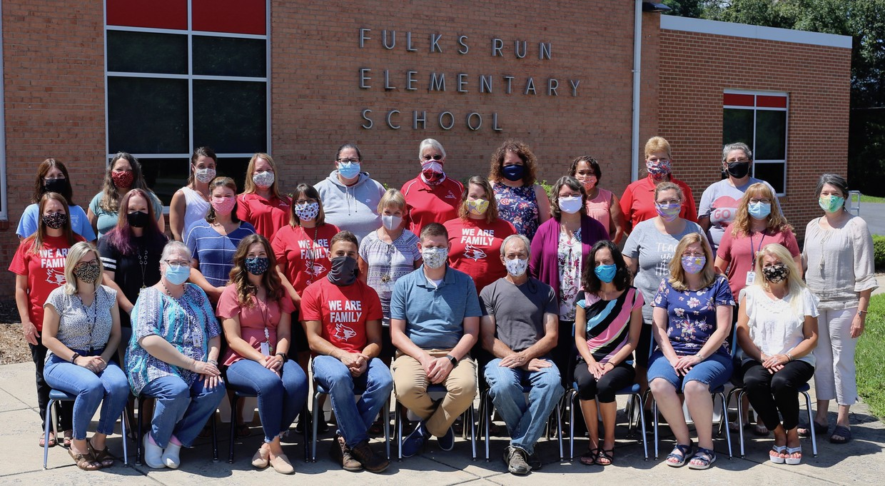 Picture of FRES 20/21 Faculty and Staff