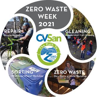 CVSan Zero Waste Week is Next Week, 1/3 - 1/9!