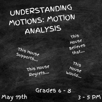 UNDERSTANDING MOTIONS: MOTION ANALYSIS