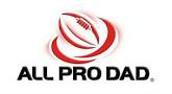 All Pro Dad Meeting Wednesday