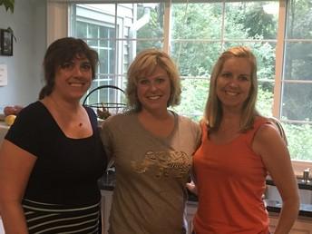 Karyn, Sue, Kristen
