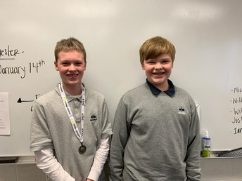Geography Bee Place Winners