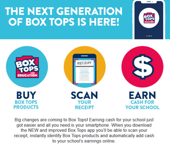 MONEY FOR PVMS....BOX TOPS.... GET THE APP....IT'S EASY