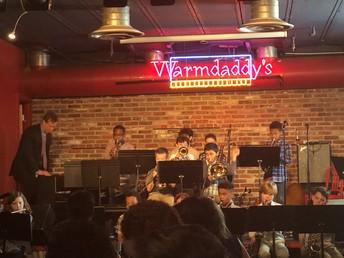 High School, Wyncote Jazz Bands Perform at Warm Daddy's
