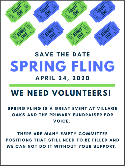 Spring Flyer Save The Date