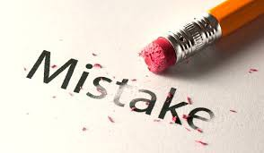 Mistakes... a learning opportunity for all?