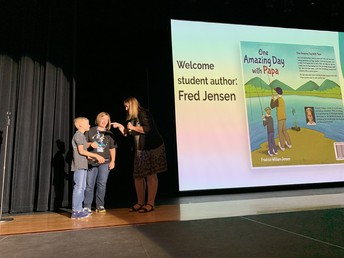 Hubbard student Frederick Jensen publishes book