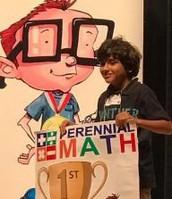 1st Place Individual Winner - Varun Singh