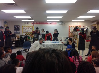 Visit from the BMHS Chemistry Club