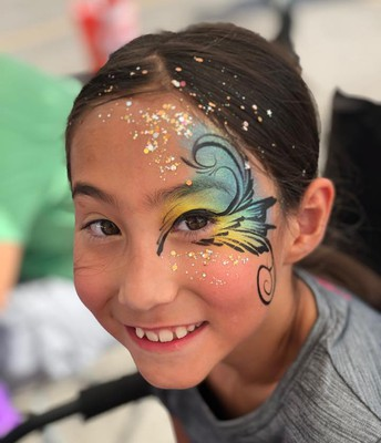 Face Painting booth was a Hit!