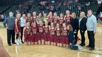 Davies Girls Basketball Team Wins EDC Title