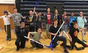 6th Grade Celebrates Great Teamwork with Hockey Tourney