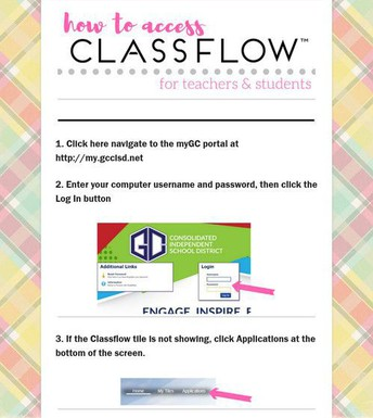 How to Access Classflow for teachers & students