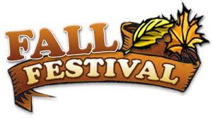 Fall Festival, October 31st 6-8pm