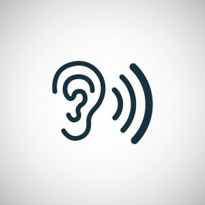 graphic of ear listening