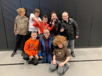 CRAZY HAIR DAY FOR KINDNESS
